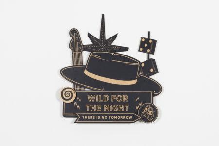 Studio Ruwedata - wild for the night - wall sculpture artwork
