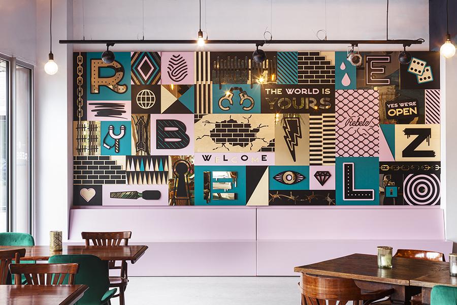 Rebelz op de Binckhorst Den Haag - Studio Ruwedata - kunstwerk