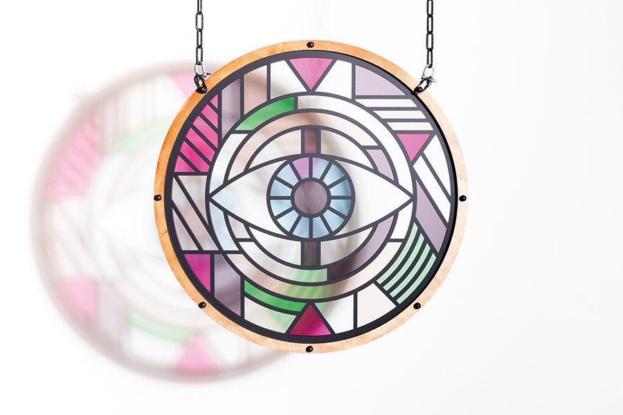Studio Ruwedata - modern stained glass artwork