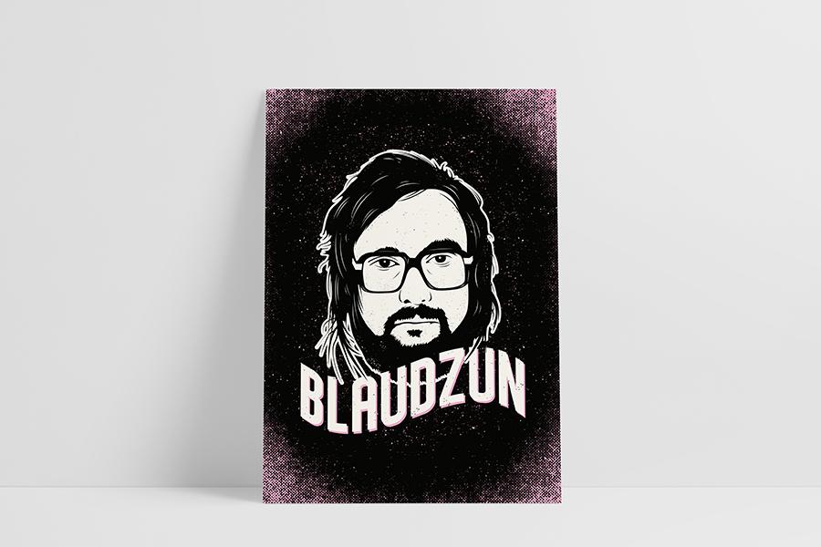 Ruwedata poster - Blaudzun