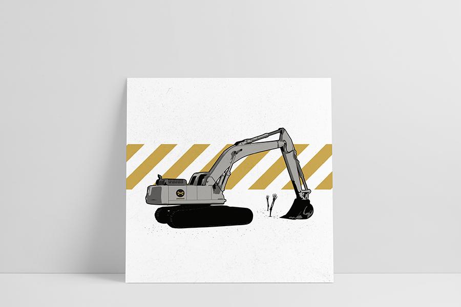 Ruwedata - Poster - Digger
