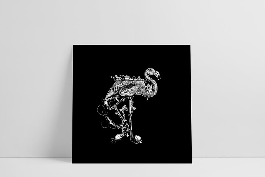 Ruwedata - Poster - Flamingo