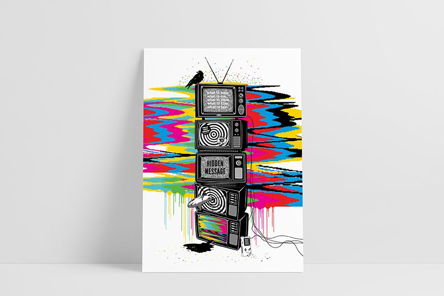 Ruwedata poster - tv