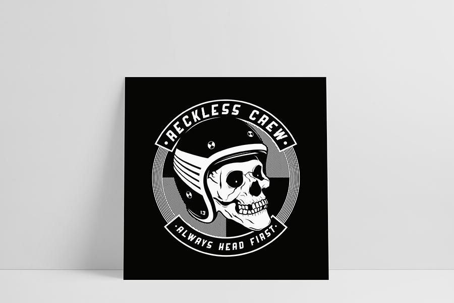 Ruwedata - Poster - Reckless