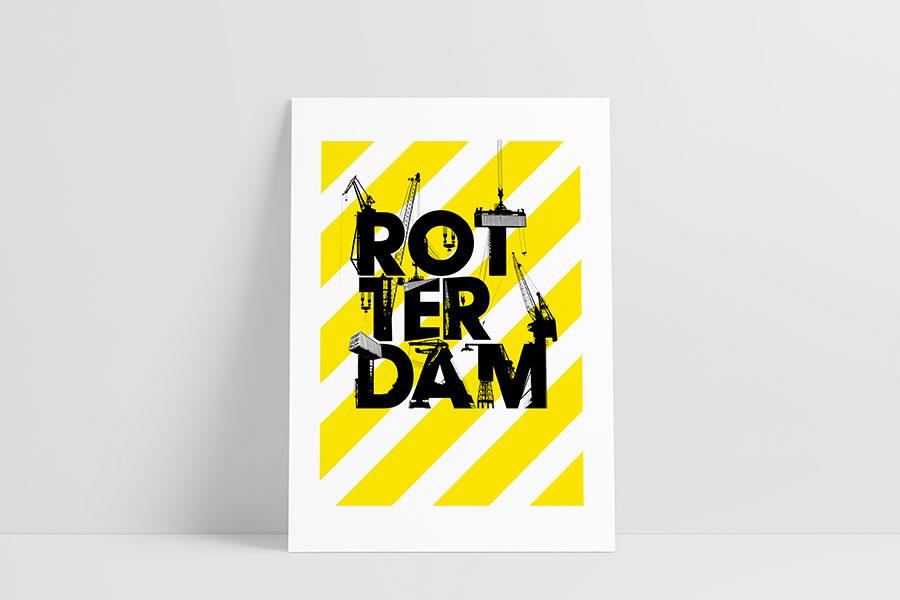 Ruwedata poster - Rotterdam