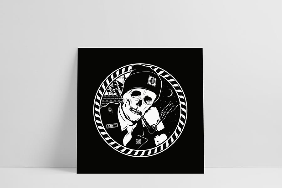 Ruwedata - Poster - Shipwreck