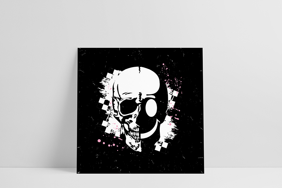 Ruwedata - Poster - Skullsmiley