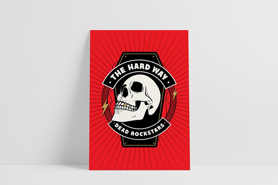 Ruwedata poster The Hard Way