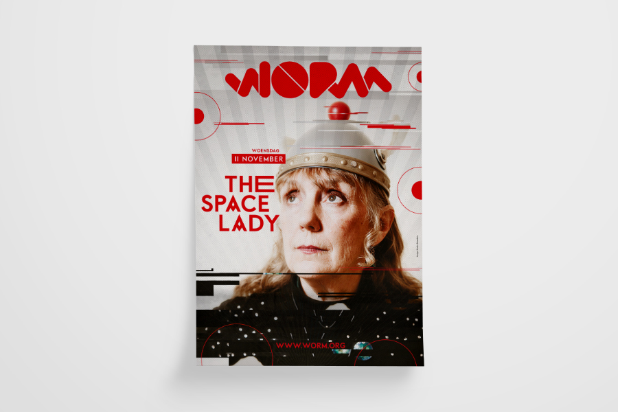 Worm - The Space Lady